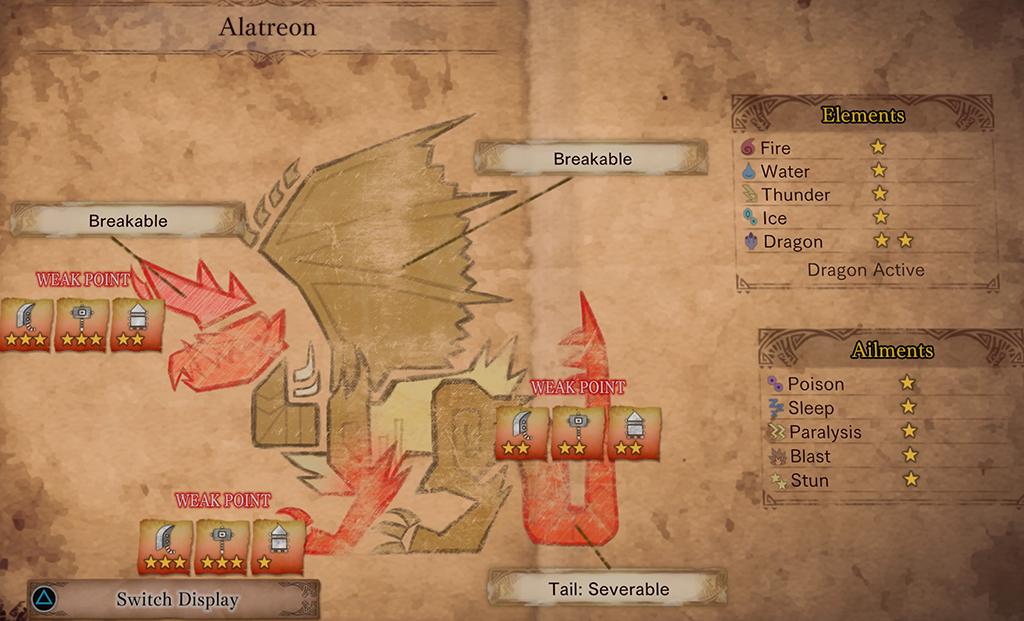 Alatreon Monster Hunter World Wiki