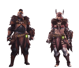 Mhw Beta Monsters >> Anja Alpha Armor Set | Monster Hunter World Wiki