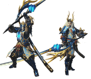 Azure Starlord Alpha Armor Set   Monster Hunter World Wiki