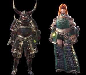cute monster hunter female armor