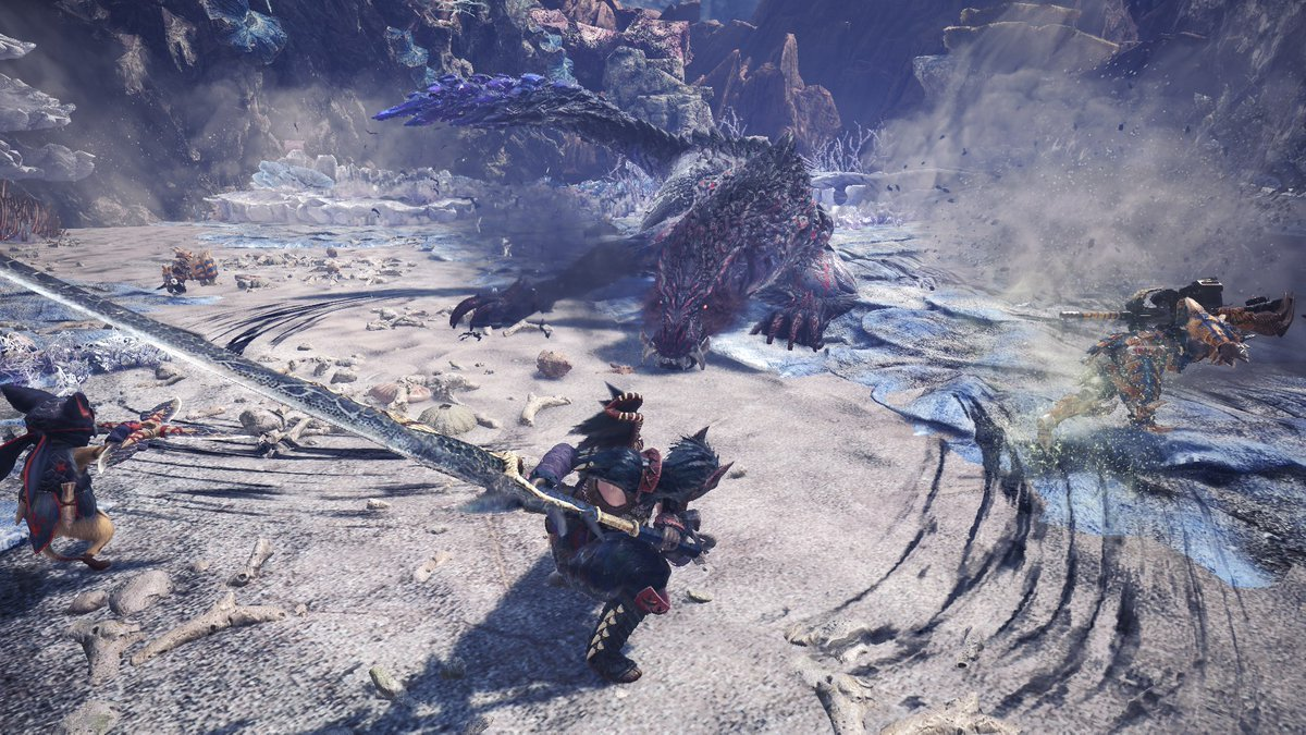 Ebony Odogaron | Monster Hunter World Wiki