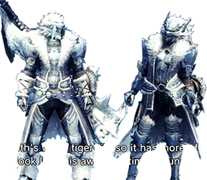 Frostfang Barioth Alpha Armor Set Monster Hunter World Wiki