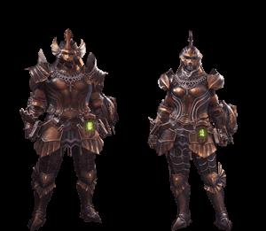Mhw Beta Monsters >> Kushala Alpha Armor Set | Monster Hunter World Wiki