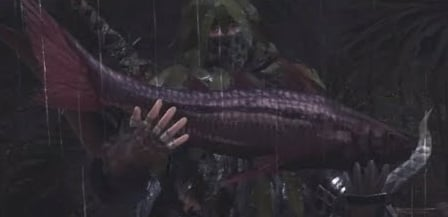Can the old lady sell ancient fish on mhfu - answers.com