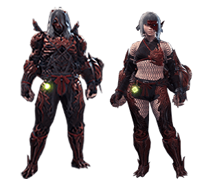 Master Rank Armor Monster Hunter World Wiki Forge ember red, amethyst violet, shrike blue. master rank armor monster hunter