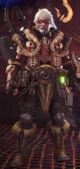 Mhw Beta Monsters >> Shamos Armor Set | Monster Hunter World Wiki