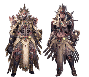 Shara Ishvalda Alpha Armor Set Monster Hunter World Wiki