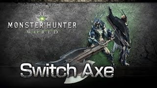 monster hunter world weapons types